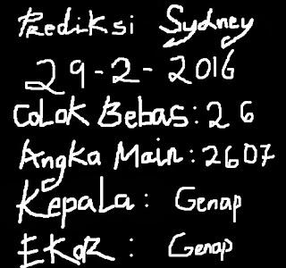 colokbebastop.blogspot.com-PREDIKSI COLOK BEBAS TOP SYDNEY,SINGAPORE,HONGKONG 29 FEBRUARY 2016