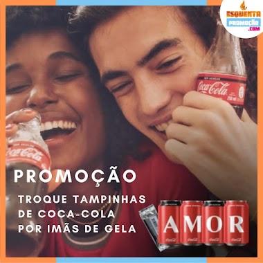 PROMOÇÃO Coca Cola Imãs de Geladeira