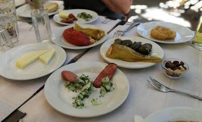 Griechische Vorspeisen auf Kreta