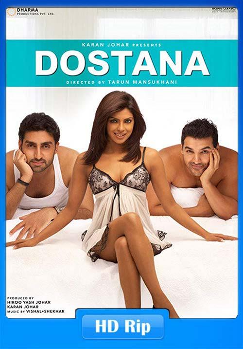 Dostana 2008 BRRip Hindi 720p X264 | 480p 300MB | 100MB HEVC