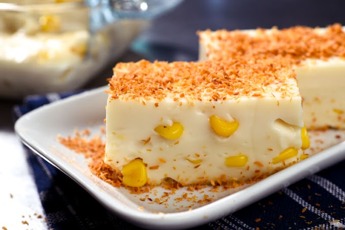 How to cook the  best  Maja Blanca