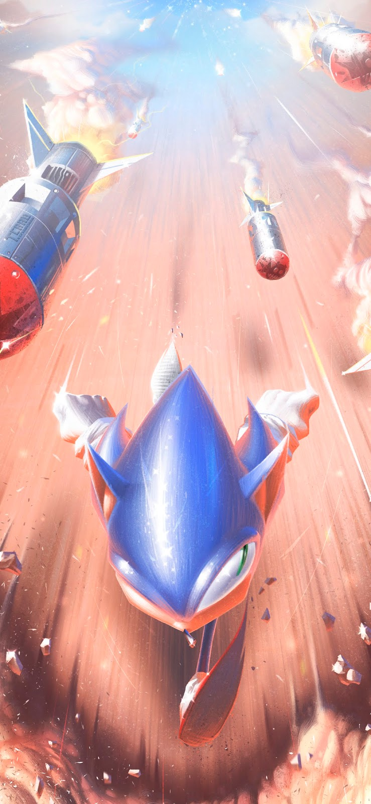 sonic-running-wallpaper-for-phone