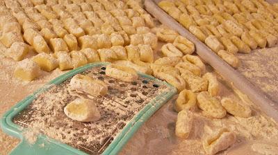 Kako se prave njoke / How to make gnocchi
