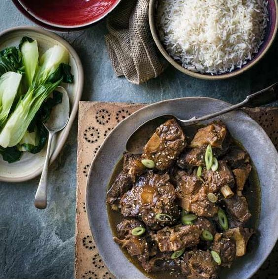 Oxtail With Orange, Szechuan Peppercorns And Star Anise
