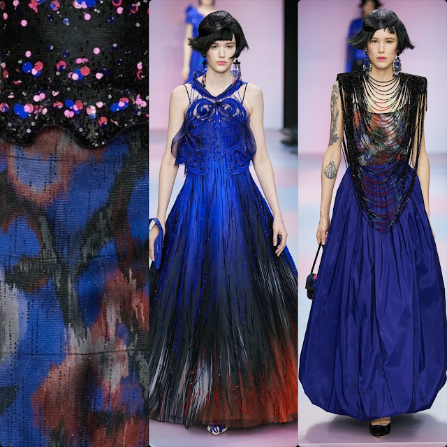 Armani Privé Haute Couture Spring Summer 2020 Paris. RUNWAY MAGAZINE ® Collections