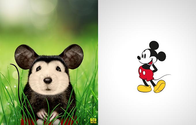 ¿Cómo se verían los personajes de dibujos animados de animales en la vida real?