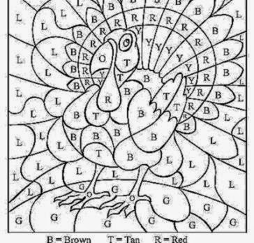 THANKSGIVING COLORING SHEETS  Coloringpages321