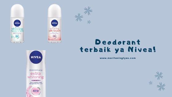 Nivea deodorant terbaik untuk menghilangkan bau badan