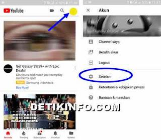 Cara hapus riwayat tontonan dan penelusuran youtube
