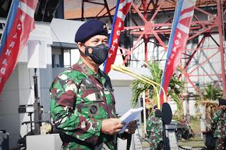 Apel Khusus Pangkoarmada II sampaikan Amanat Kepada Prajurit Koarmada II