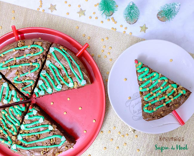 recette brownie sapin
