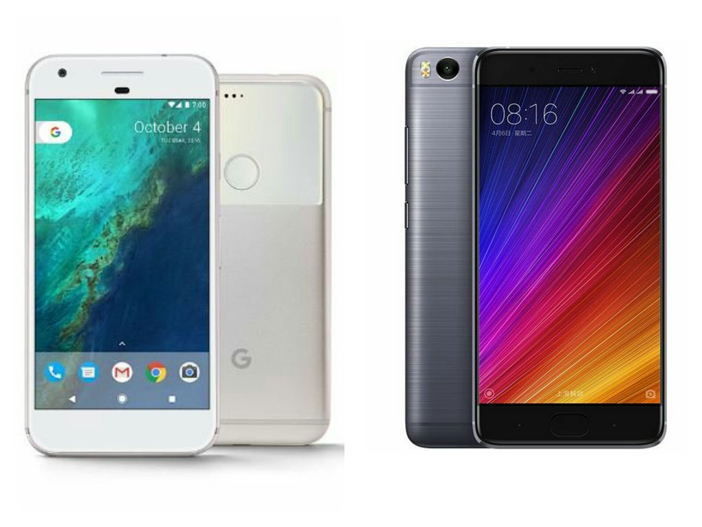Google Pixel Vs Xiaomi Mi 5s : Specs Comparison - Tech Updates