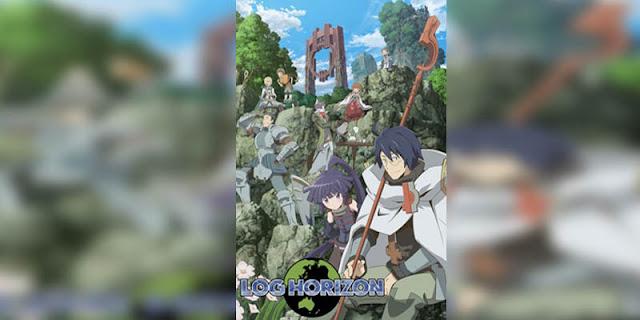 Rekomendasi Anime Game, Tentang Masuk Dunia Game Log Horizon terbaik