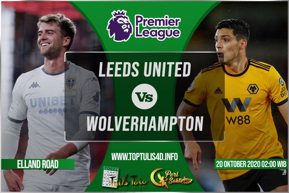 Prediksi Leeds United vs Wolverhampton 20 Oktober 2020