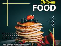 Free Template Food Menu and Restaurant Social Media Post