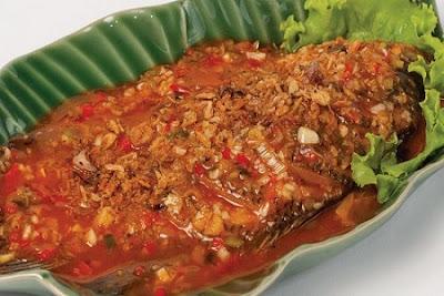 Resep Ikan Gurame Sambal Extra Pedas