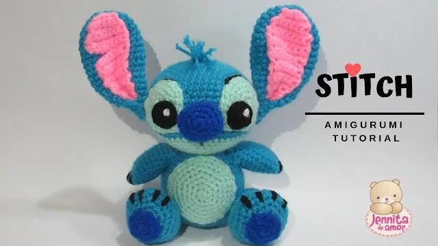 26. Stitch (de Lilo & Stitch) Amigurumi a Crochet