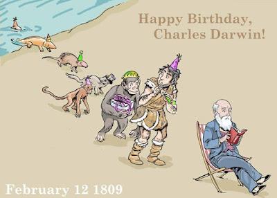 sorpresa natalicio charles darwin