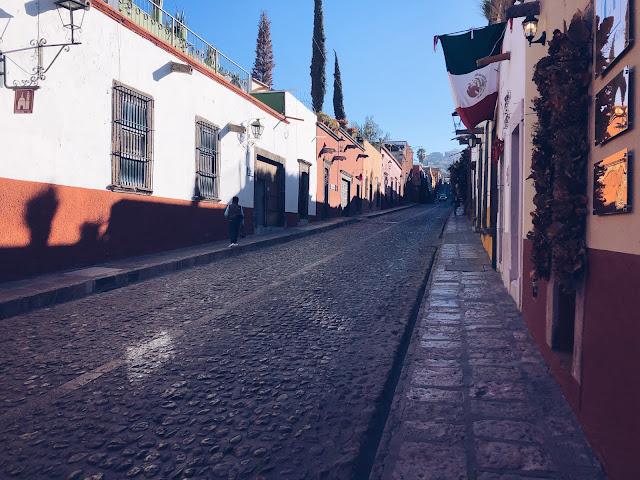 Cobblestone streets San Miguel de Allende