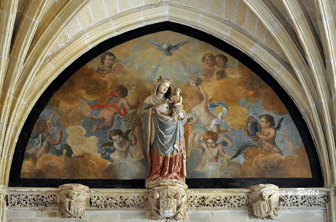 Claustro del Monasterio de S Salvador de Oña