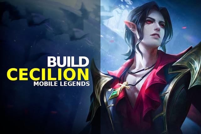 build cecilion terbaru mobile legends