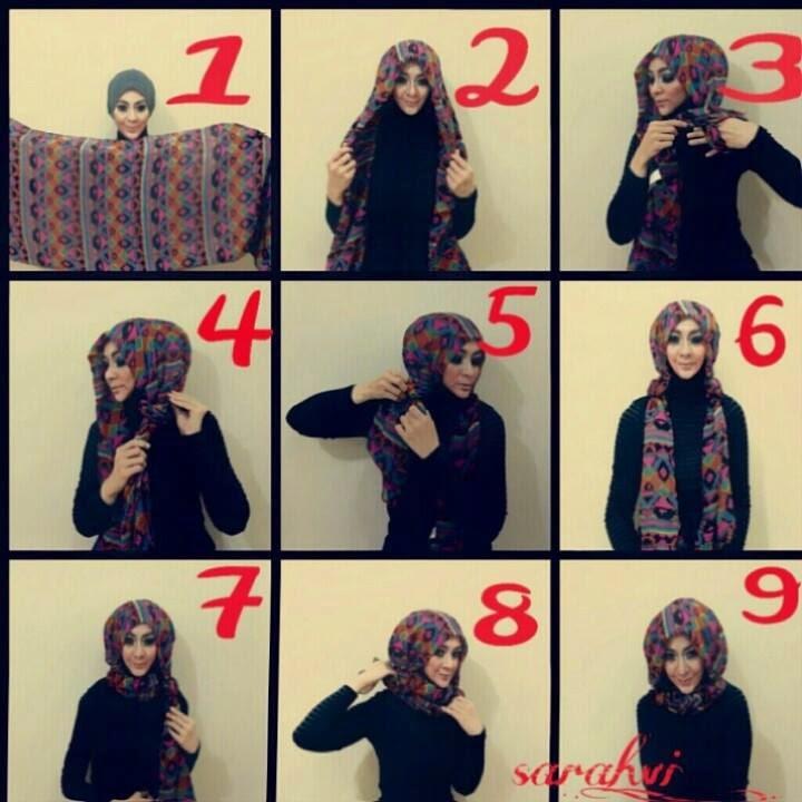 Top cara memakai hijab modern