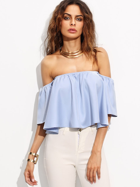 http://www.romwe.com/Blue-Off-The-Shoulder-Bell-Sleeve-Crop-Top-p-186661-cat-670.html?utm_source=treschicbypaulina.com&utm_medium=blogger&url_from=treschicbypaulina