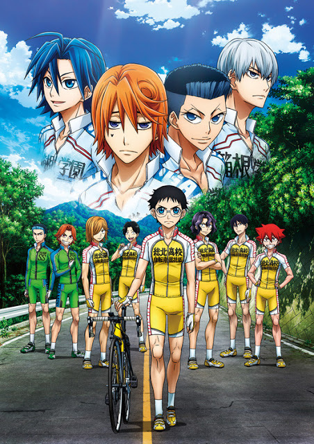 todos los capitulos de Yowamushi Pedal: New Generation