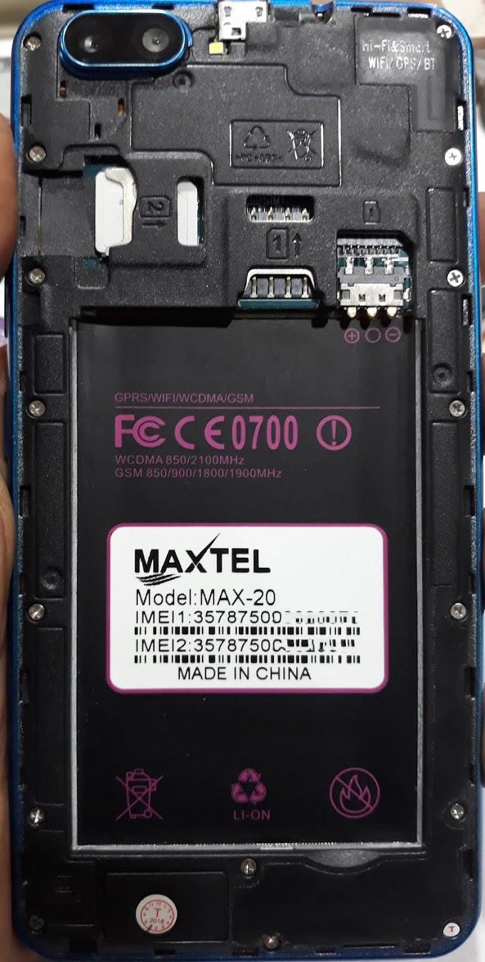 MAXTEL MAX-20 FLASH FILE FIRMWARE STOCK ROM