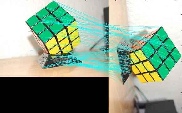 SIFT akan mencocokkan koordinat pada ponsel dengan layar komputer, untuk memastikan objek ditempatkan di tempat yang diinginkan oleh pengguna.