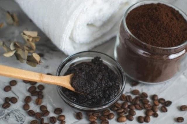 ماسك القهوة لتفتيح البشرة