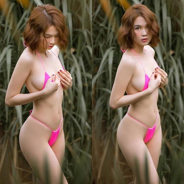 Ảnh nude 100% của Ngọc Trinh tiếp tục 'chiêu đãi' khoảnh khắc phô ngực căng đầy