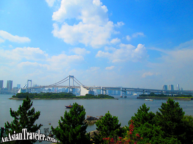 Rainbow Bridge at Odaiba