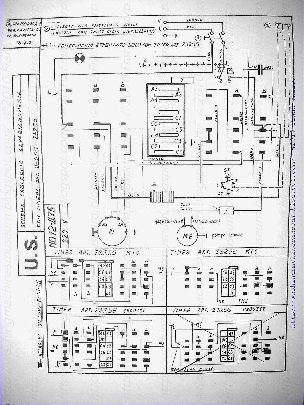Washer Rama Museum: CANDY WASHING MACHINE WITH TIMER