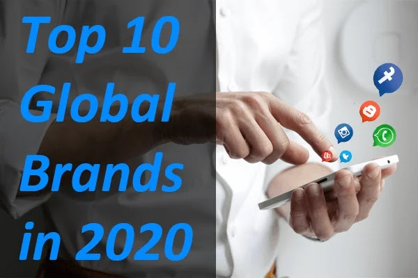 Top 10 Most valuable brands in 2020
