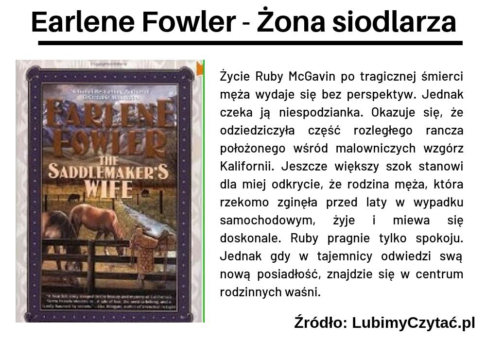 Earlene Fowler - Żona siodlarza, Cykl książkowy, Marzenie Literackie