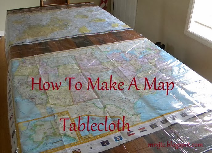 Redeemed Map Tablecloth