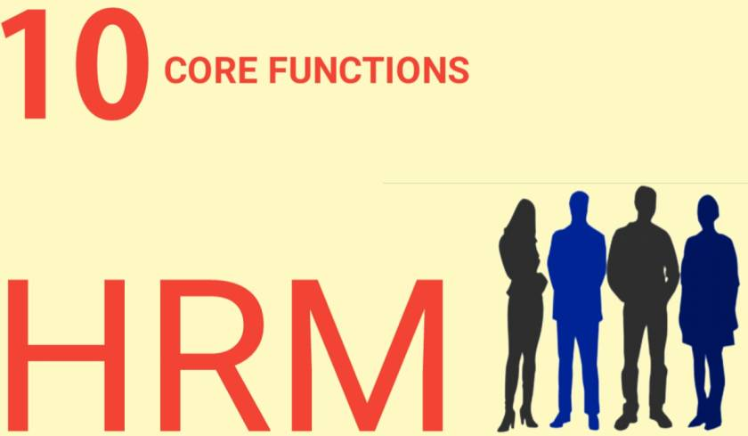 10 core functions hrm