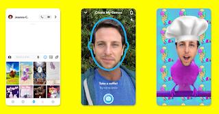 Cara Edit Selfie Cameo Anda Pada Snapchat