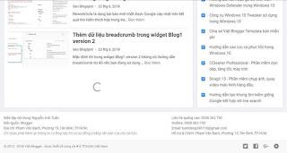 Tạo phân trang tải thêm các bài viết khi scroll và click theo kích thước màn hình