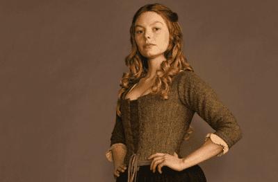 Laoghaire MacKenzie aparece más veces en la serie que en los libros de Outlander