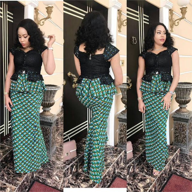 Latest Collection of Ankara Skirt and Blouse 2019