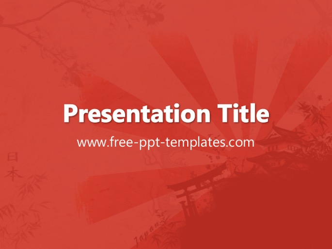 japan ppt template With japan powerpoint template free