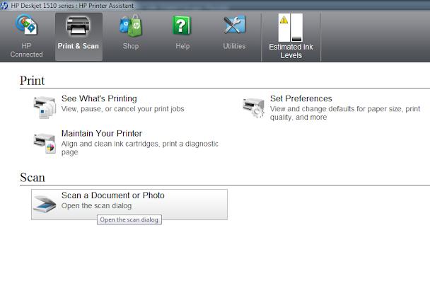 Cara Memperbaiki Scanner Printer HP Deskjet 1515