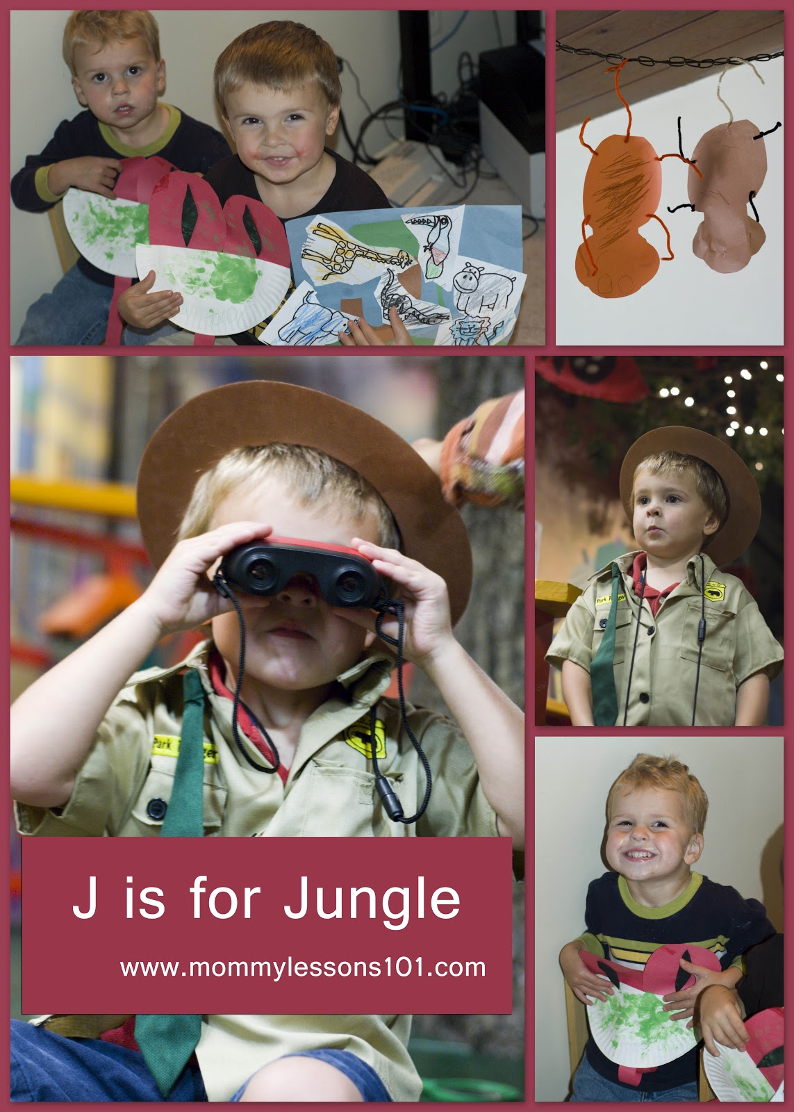 Mommy Lessons 101 J Is For Jungle