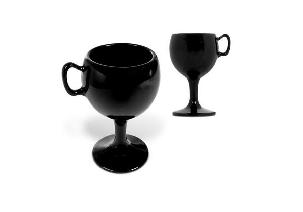 Diseño de taza en forma de copa