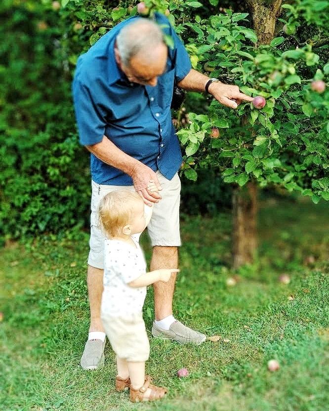 Aus Enkelkind erfahren Großeltern alles, was sie wissen müssen.
