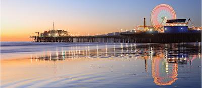 Santa Monica Pier en Los Angeles - que visitar