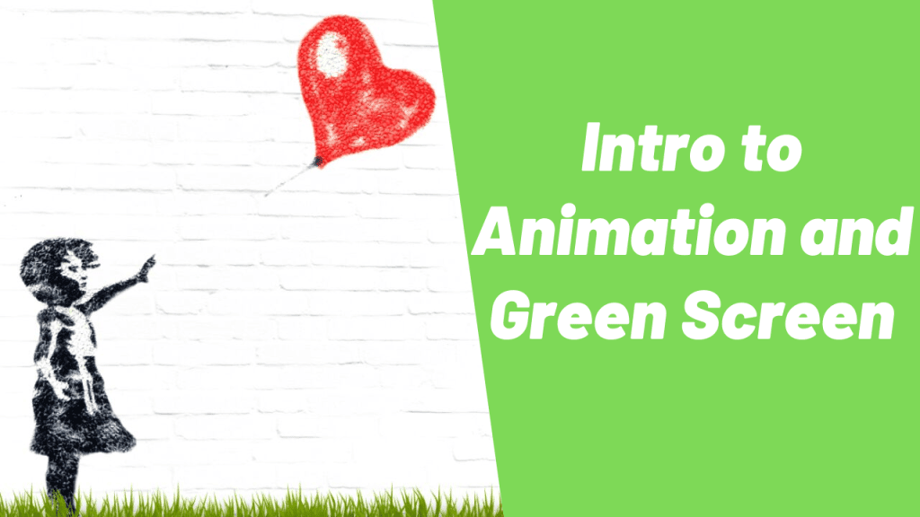 Free Technology for Teachers: Intro to Animation and Green Screen Videos