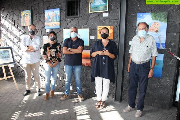La exposición colectiva sobre San Borondónya puede disfrutarse en el Centro de Visitantes del Volcán San Antonio